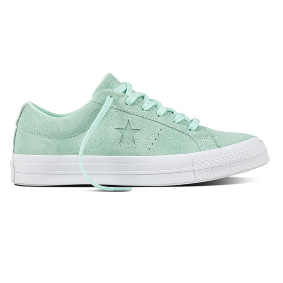 ba3b4bcc8b00 Converse One Star Ox Mint Green Shoes Size 7